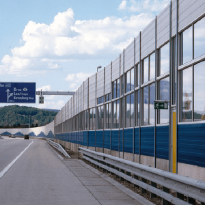 Overpass Soundproofing Fence LRM