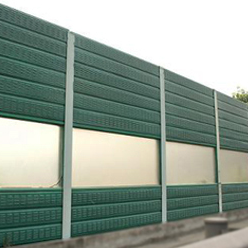 Factory made hot-sale Curved Acoustic Barrier -
