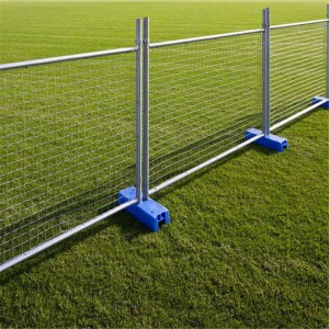 China New Product Hexagonal Mesh Fence - Temporary fence – Jinbiao