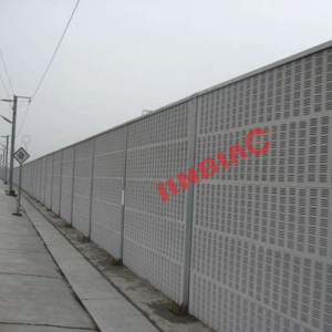 Cement noise barriers