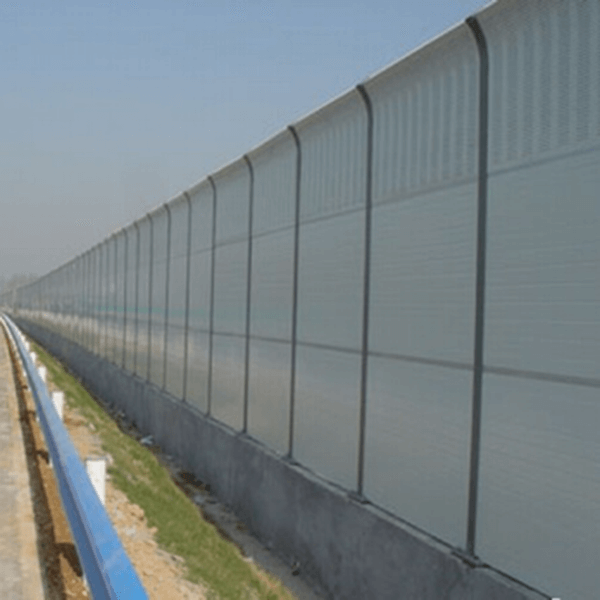 Aluminum plate noise barrier Featured Image