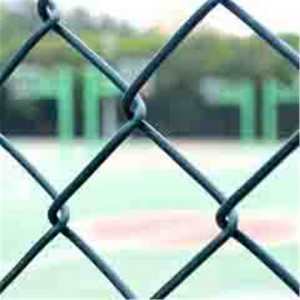 Low MOQ for Three Or Four Directions Plastic Geogrid - Chain link fence – Jinbiao