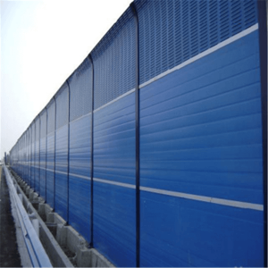 Highway acoustic barrier