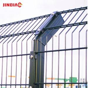 factory double welded mesh fence
