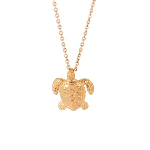 Beach Jewelry Sea Turtle Necklace Ocean Animal Jewelry Turtle Pendant Necklaces