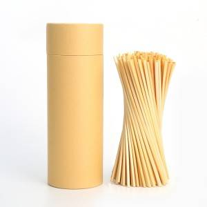 200pcs Compostable Wheat Drinking Straw instead of plastic straw