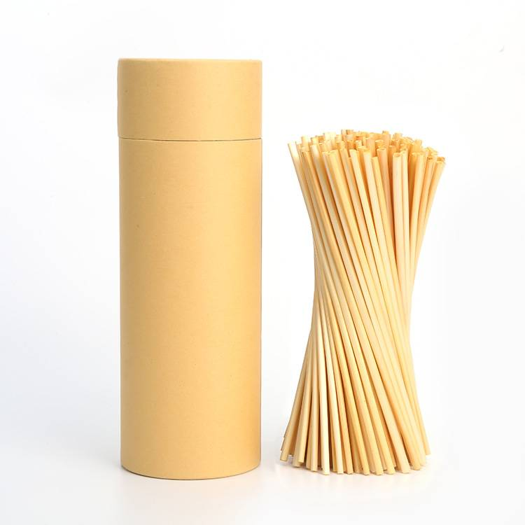 200pcs Compostable Wheat Drinking Straw instead of plastic straw Featured Image