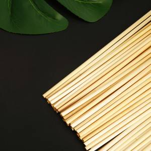 100pcs disposable natural  wheat drinking straws