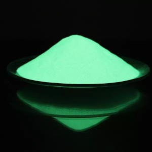 Yellow-Green Photoluminescent Pigment