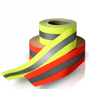 100%Cotton Flame Retardant Reflective Warning Tape