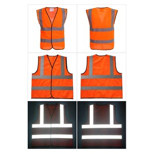 Hi Vis Reflective Safety Vest with En20471