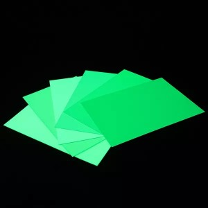 PVC Photoluminescent Sheet