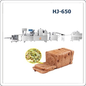 Renewable Design for Cake Encrusting Machines -