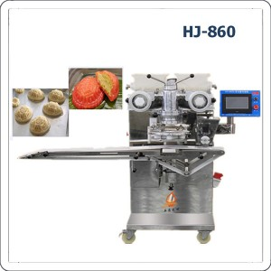 Automatic red tortoise cake making machine