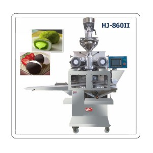 Automatic ice cream mochi making machine