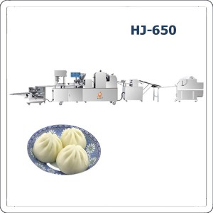Automatic steamed stuffed bun making machine