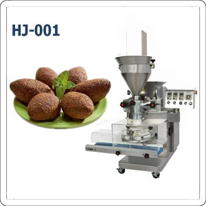 Desktop automatic small kubba kibbe encrusting machine for home