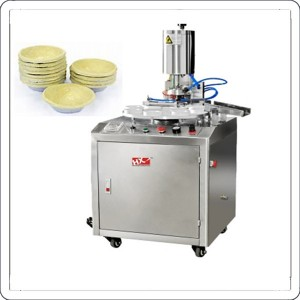 Automatic egg custard tart making machine