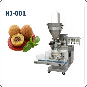 Small arancini rice ball forming machine