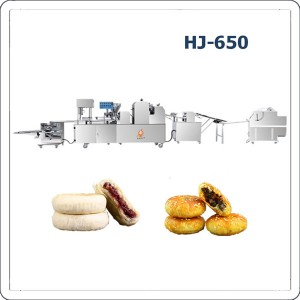 Automatic flaky pastry making machine