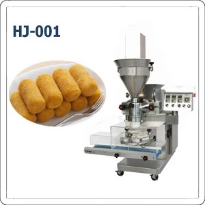 Automatic croquetas croquette making machine