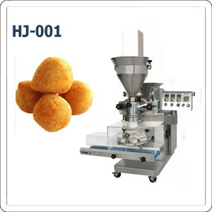 Automatic coxinha encrusting machine