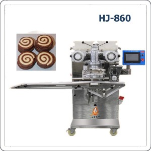 Automatic ice box cookies designed cookies making machine