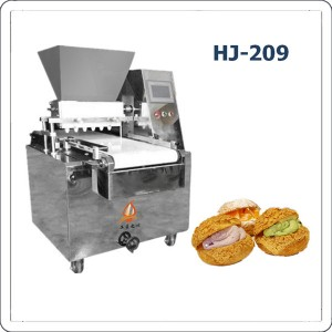 Automatic cream puff making machine