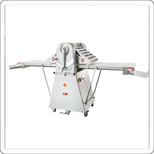 Crisp dough sheeter making machine