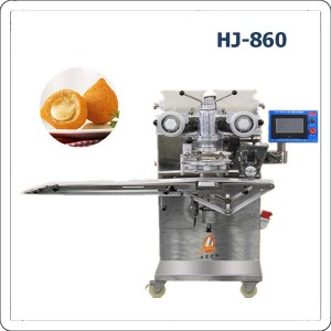 Automatic brazilian chicken coxinha making machine