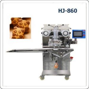 HJ-860 Panda cookies forming machine/ designed biscuits encrusting machine