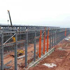 Large Span Custom Prefab Warehouses Steel Structure