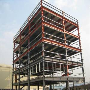 Multi-storey Best price Steel Structure Construction