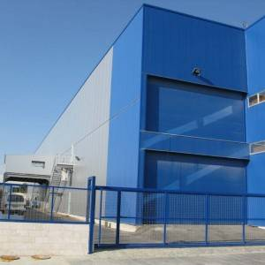 Multi-storey Easy Install Steel Frame Factory Building