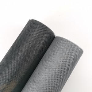 17*16 120gsm Black Color Fibre Glass Anti Insect Net Mosquito Screen