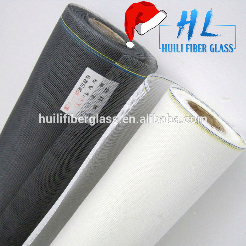 1.2*20m 18*16 Mesh PVC Coated Fiberglass Window Insect Screen