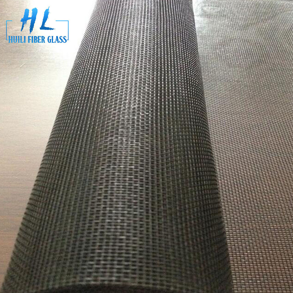 1.22m wide pvc coated fiberglass window screen mesh