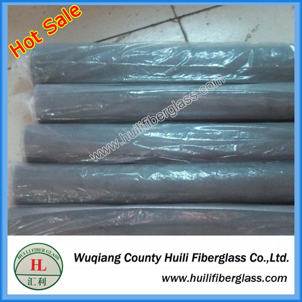 1.8m wide pvc coated fiberglass insect window screen mesh roll