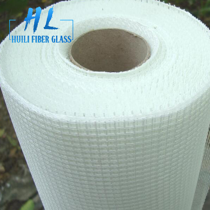 110g 10×10 white color fiberglass mesh
