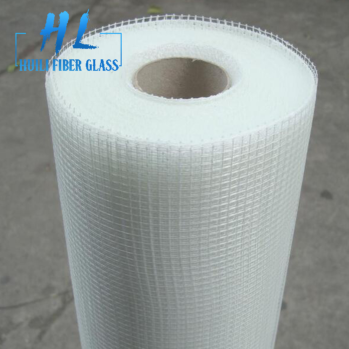 110g/m2 10x10mm white color fiberglass mesh