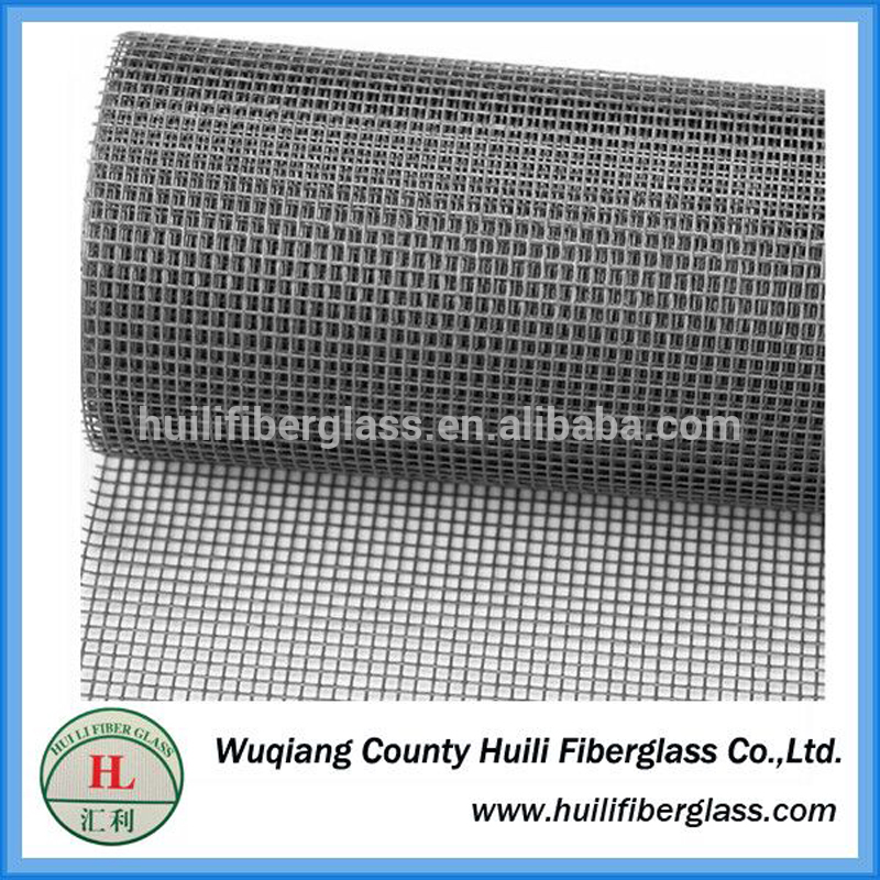 110g/m2 18×16 mesh twill weave fiberglass window insect screen from Huili factory Featured Image