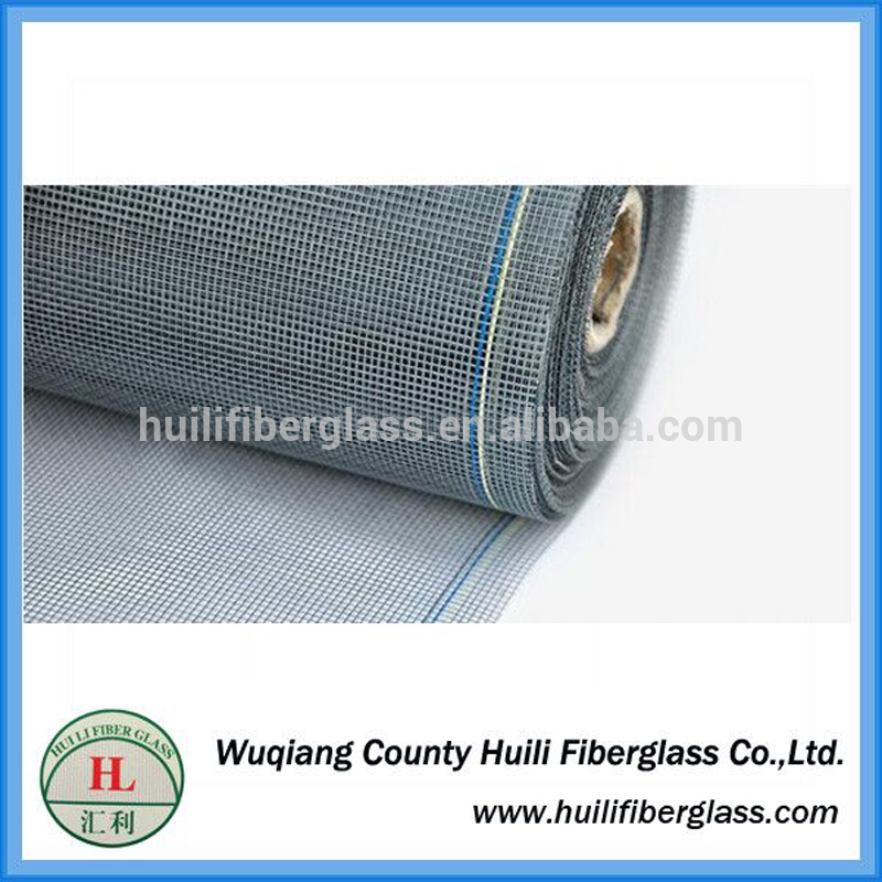 110g/m2 18×16 mesh twill weave fiberglass window insect screen from Huili factory