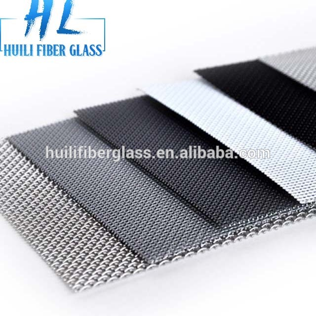 Well-designed White Fiberglass Window Screen - 120cm wide dark grey stainless steel 304 security door screen mesh – Huili fiberglass