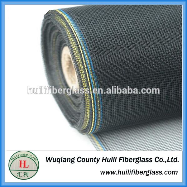 18/16 Mesh Epoxy Coating Mg Aluminum alloy wire mosquito netting roller for windows(BEST PRICE)