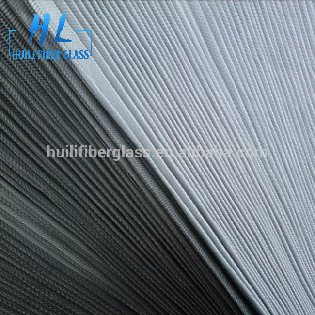 18 x 16 mesh folding fiberglass insect window screen made by Huili factory