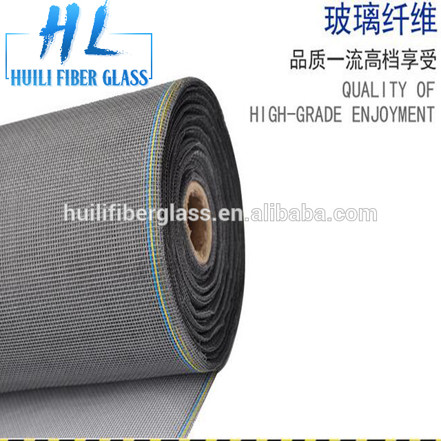 18*16 black grey and white window insect fiberglass screen fiberglass screening