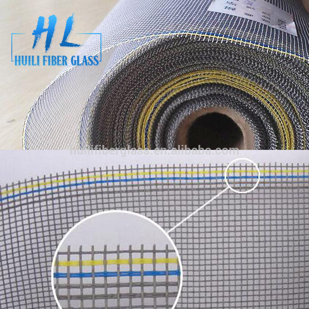18*16 fireproof fiberglass insect screen mesh /window mosquito screen nets / fiberglass window mesh