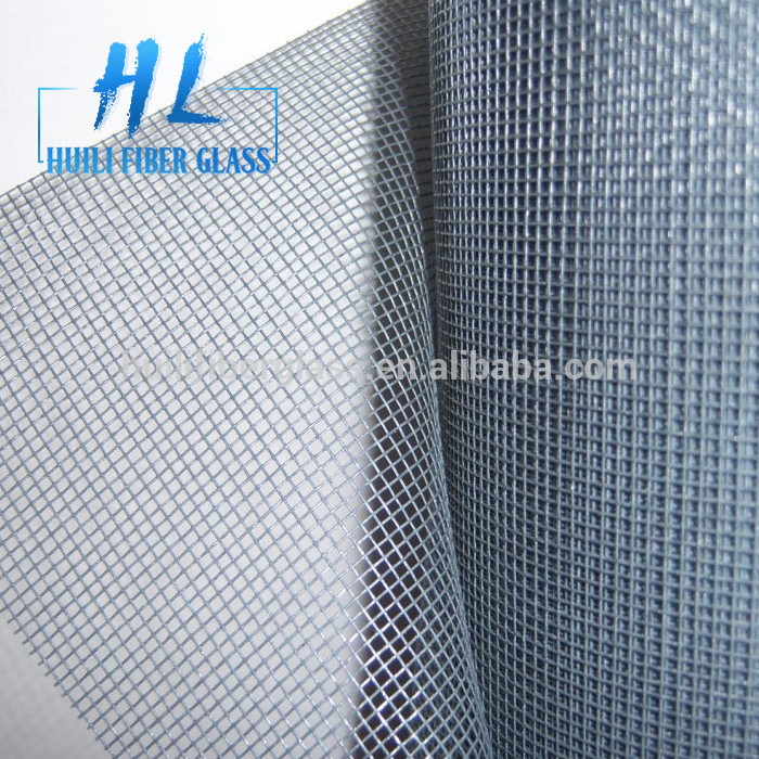 18*16 PVC coated fiberglass insect screen / fiberglass window net