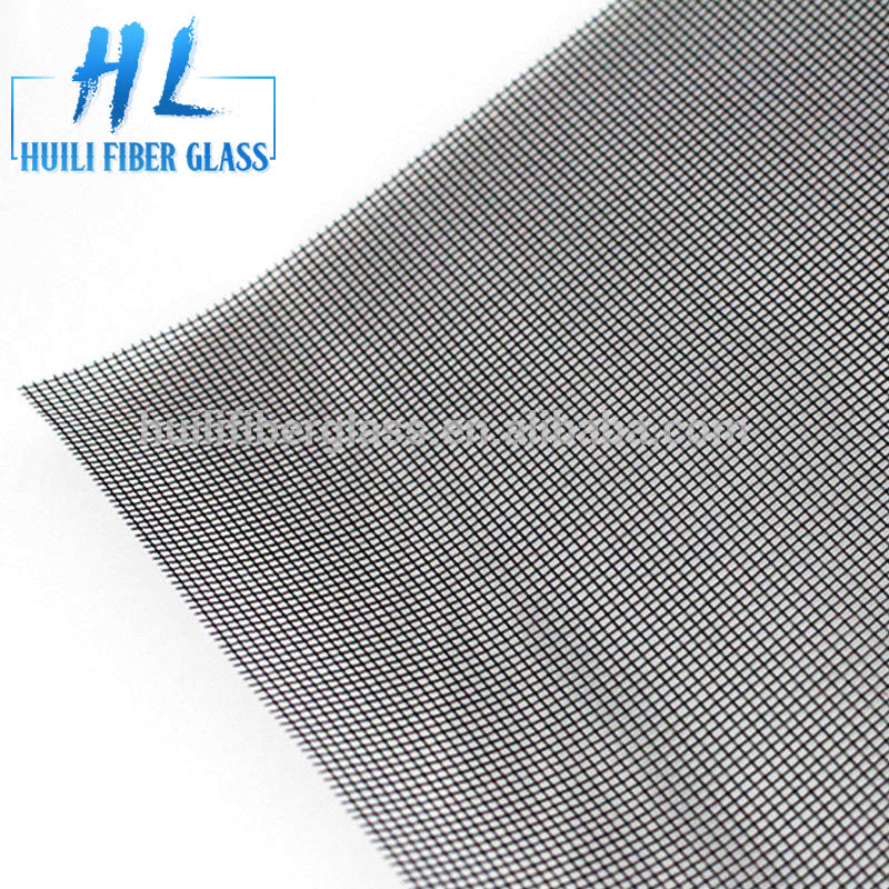18*16mesh black grey and white fiberglass window insect screen