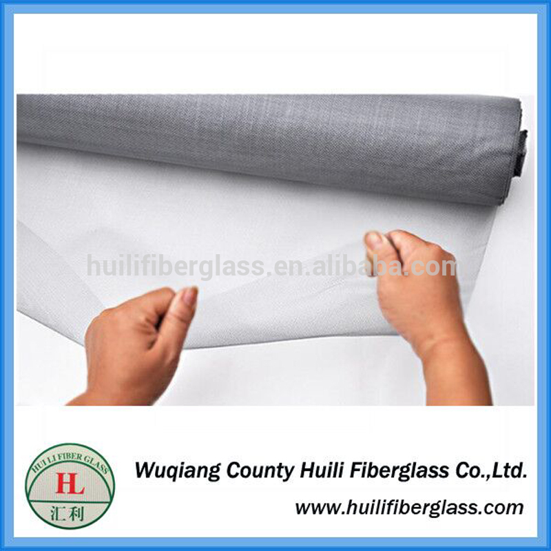 18×16 mesh black fiberglass insect window screen for Anti Mosquito from Wuqiang factory